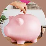 Ahorrar dinero decorador